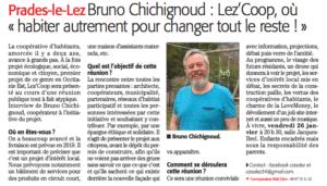Read more about the article La réunion publique annoncée sur le midi libre