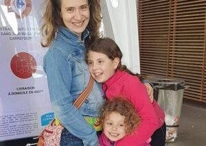 Cathy, Marie et Eline
