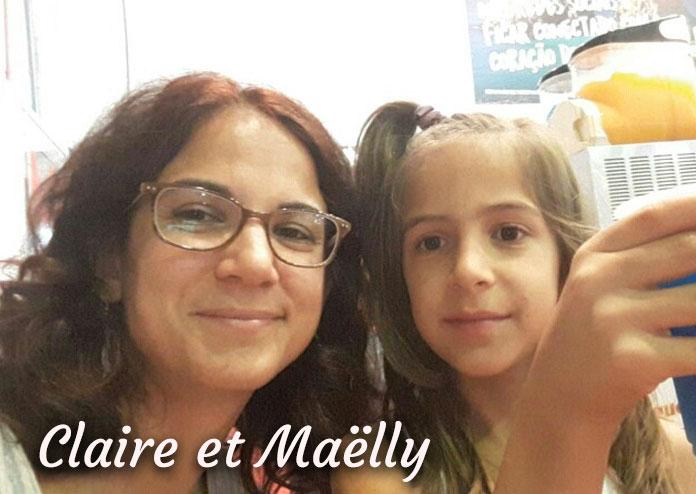 Claire et Maëlly