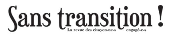 """A l'honneur dans """"Sans Transitions!"""""""